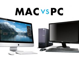 Selecting Mac PC
