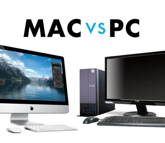 Selecting Mac PC