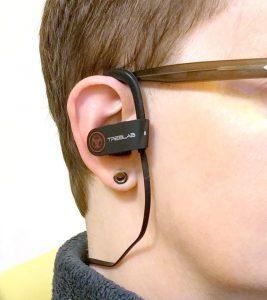 Fingertip instead earphone