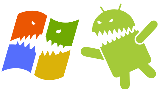Windows v/s Android