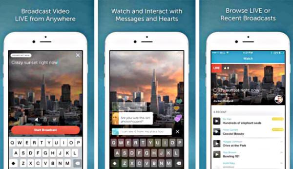 Periscope Broadcast Apps