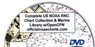 SeaClear offers free marine navigation software