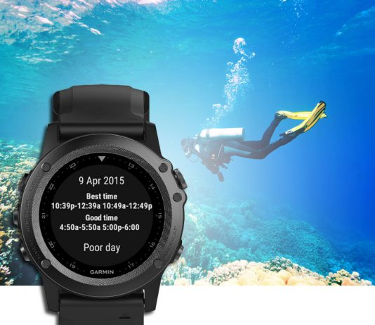 Tactical GPS watch - Tracking ship positions with AIS services