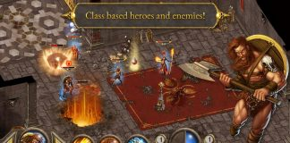 Devil Invasion, a RPG for the iPhone, iPad, and iPod Touch