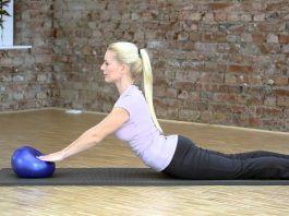 Choosing a yoga ball and pilates mat