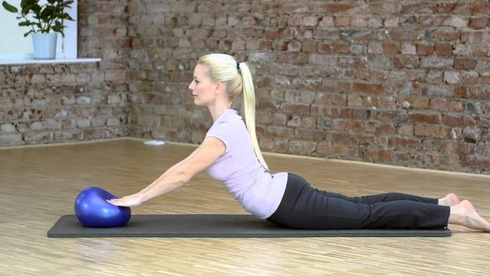 Choosing a yoga ball and pilates mat