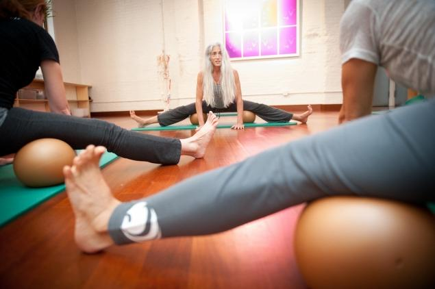 Sangha yoga and midtown yoga not just for girls